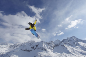 Snowboard al Tonale